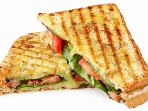 Keçi Peynirli Sebzeli Tost