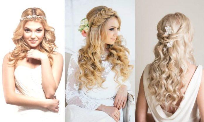 Sarı Saçlılar İçin Gelin Saç Modelleri