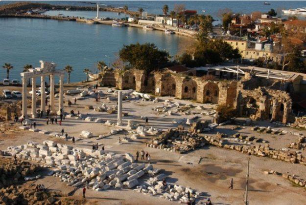 side antik şehir